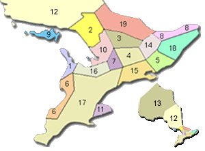 Ontario Cottages Regions
